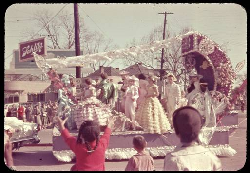 Image result for images of mardi gras children 1960's