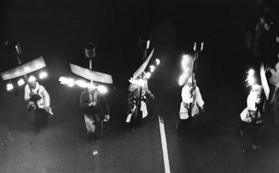 Image result for images of night time mardi gras 1960's
